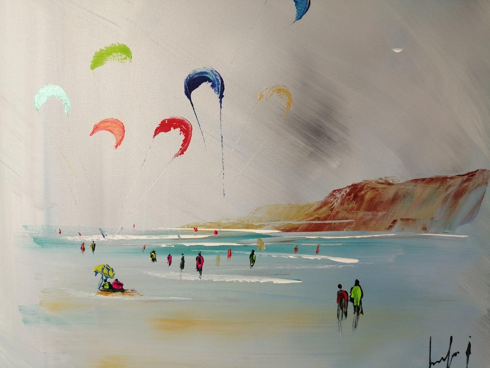 kites surf à Wimereux