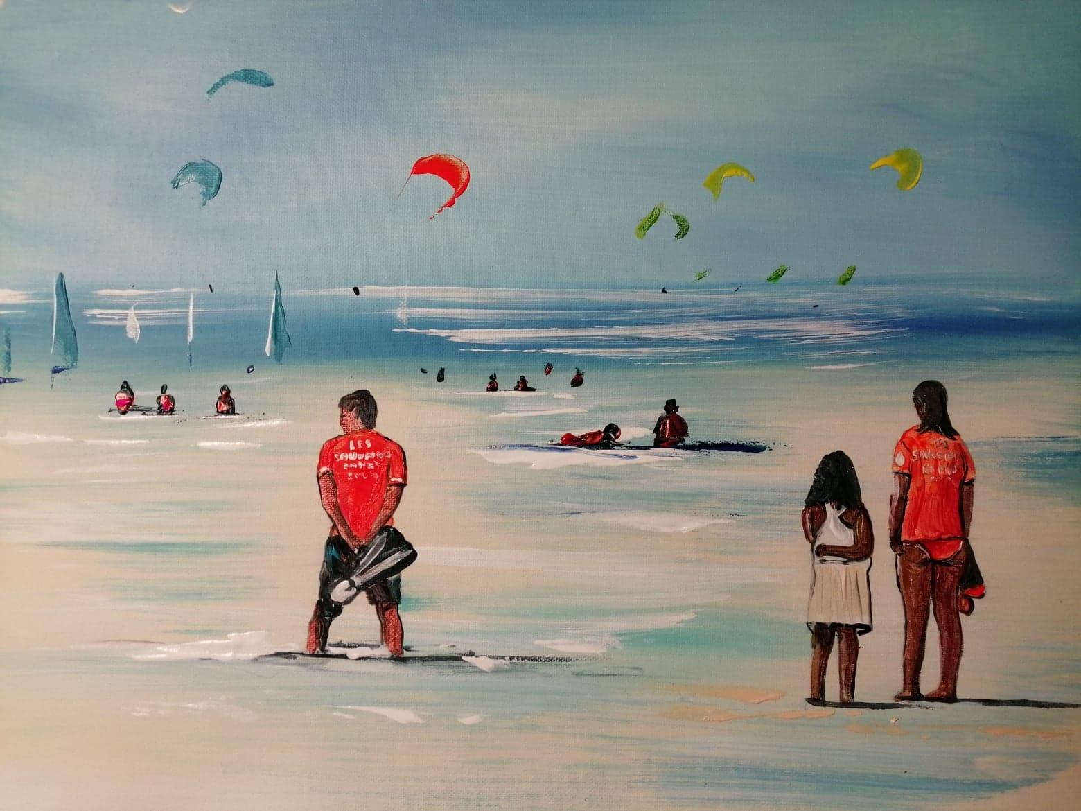 Cet été sur les plages , Merci à nos Sauveteurs en Mer de la SNSM