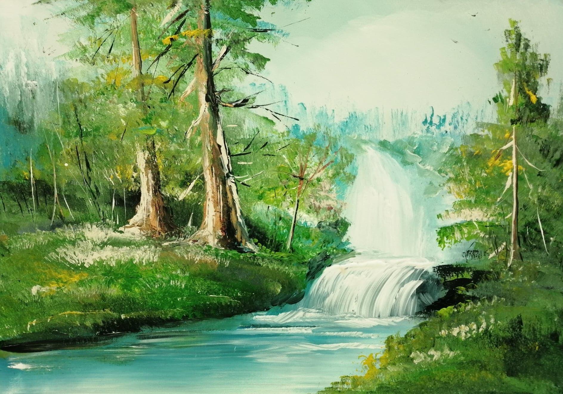 L'eau de la source coule et apporte la vie !