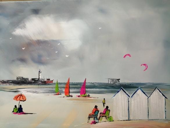 La belle plage de BOULOGNE SUR MER