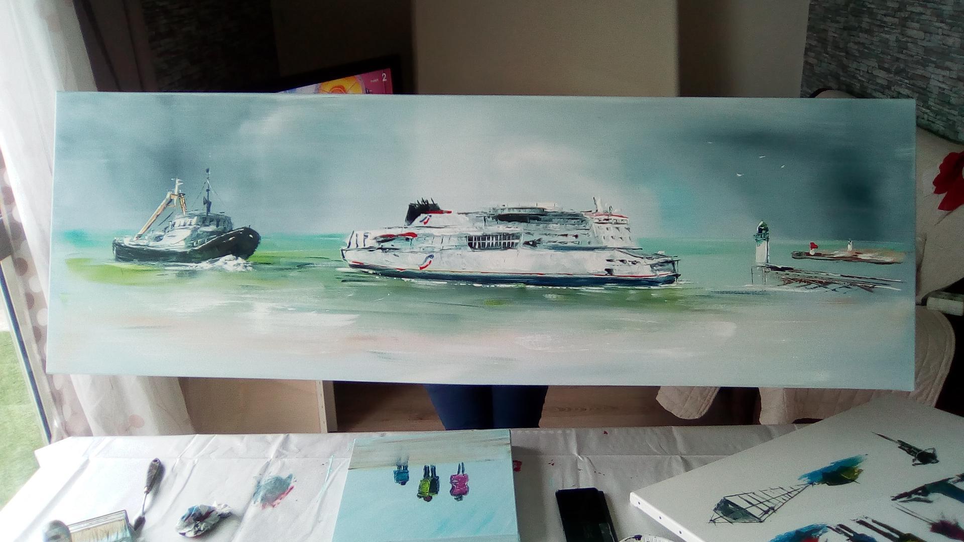 le ferry à Calais