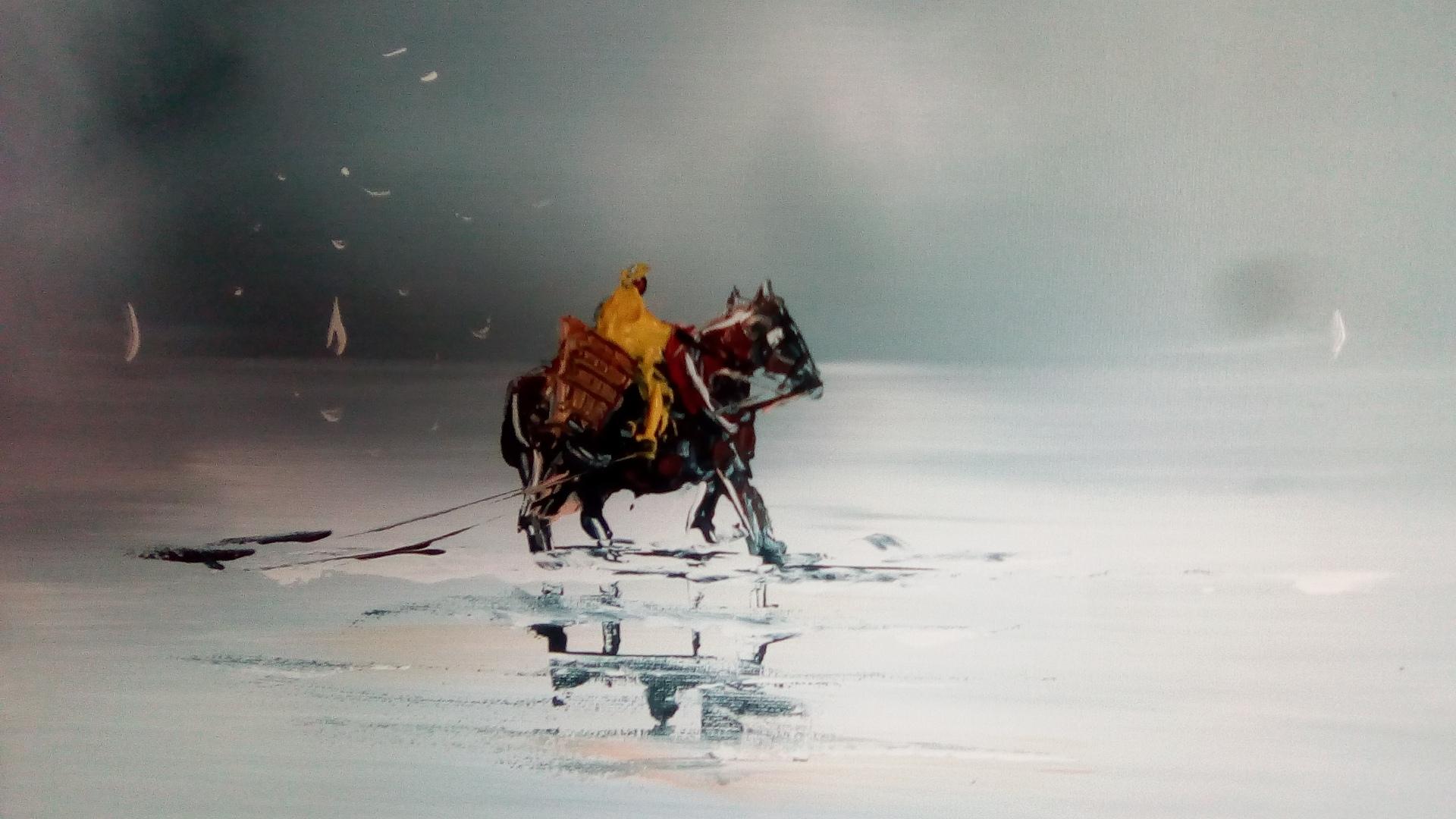 La pêche à la crevette à cheval à OSTDUINKERKE
