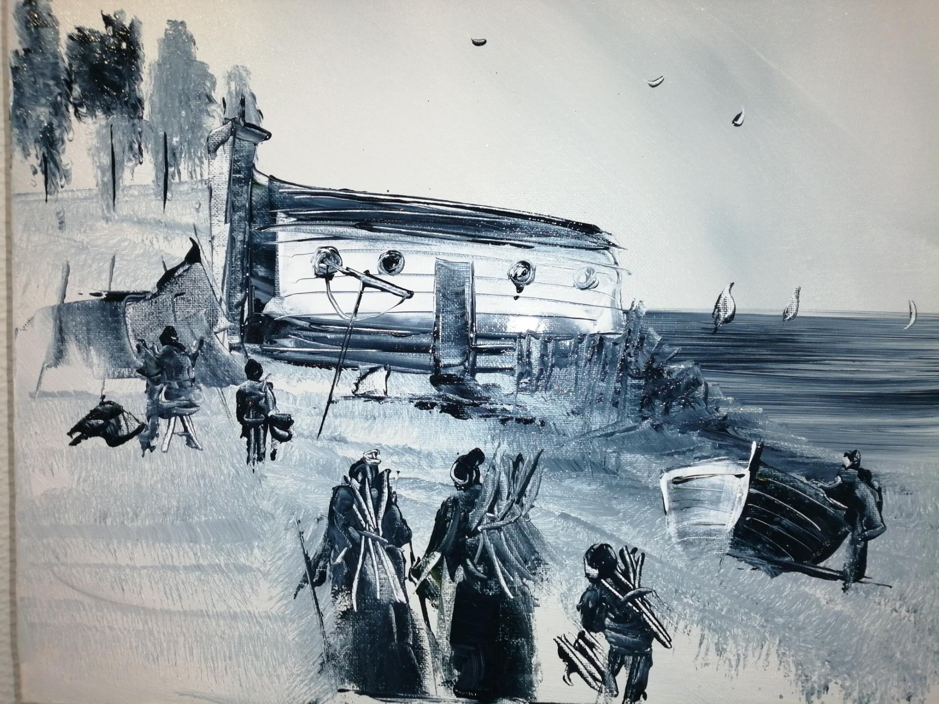 le temps où les marins et leur famille habitaient dans les