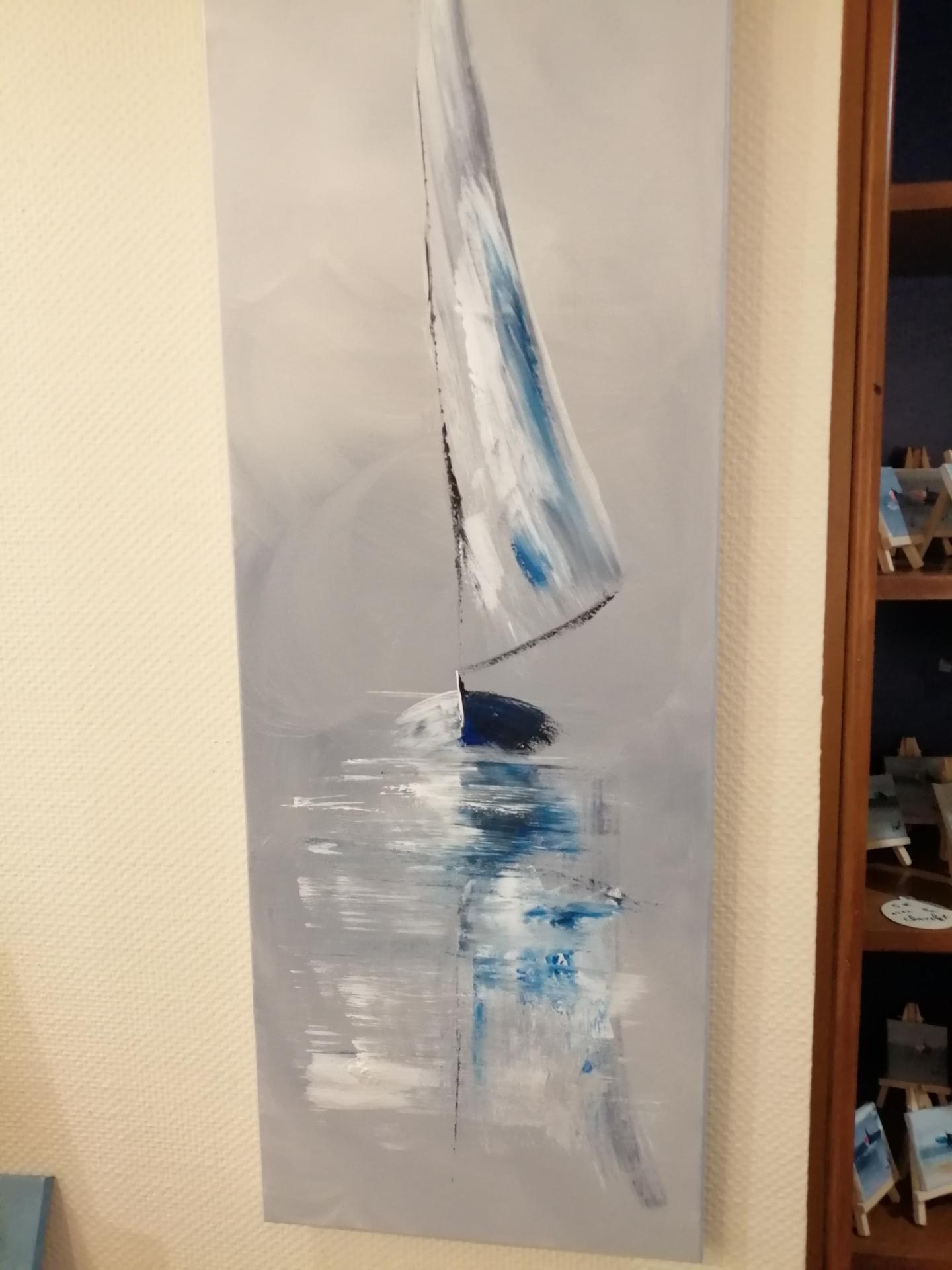 le voilier bleu