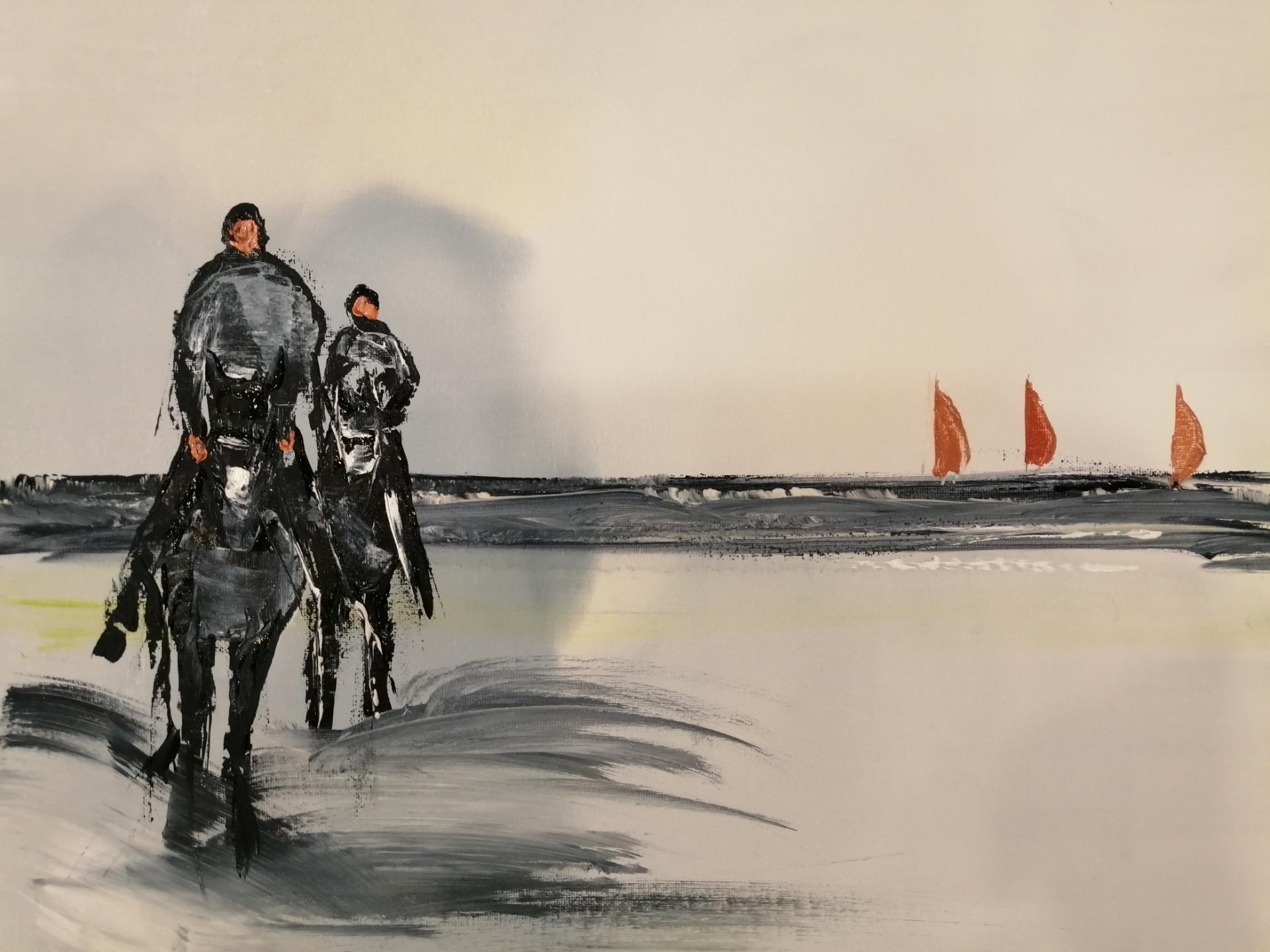 balade sur la plage de wimereux