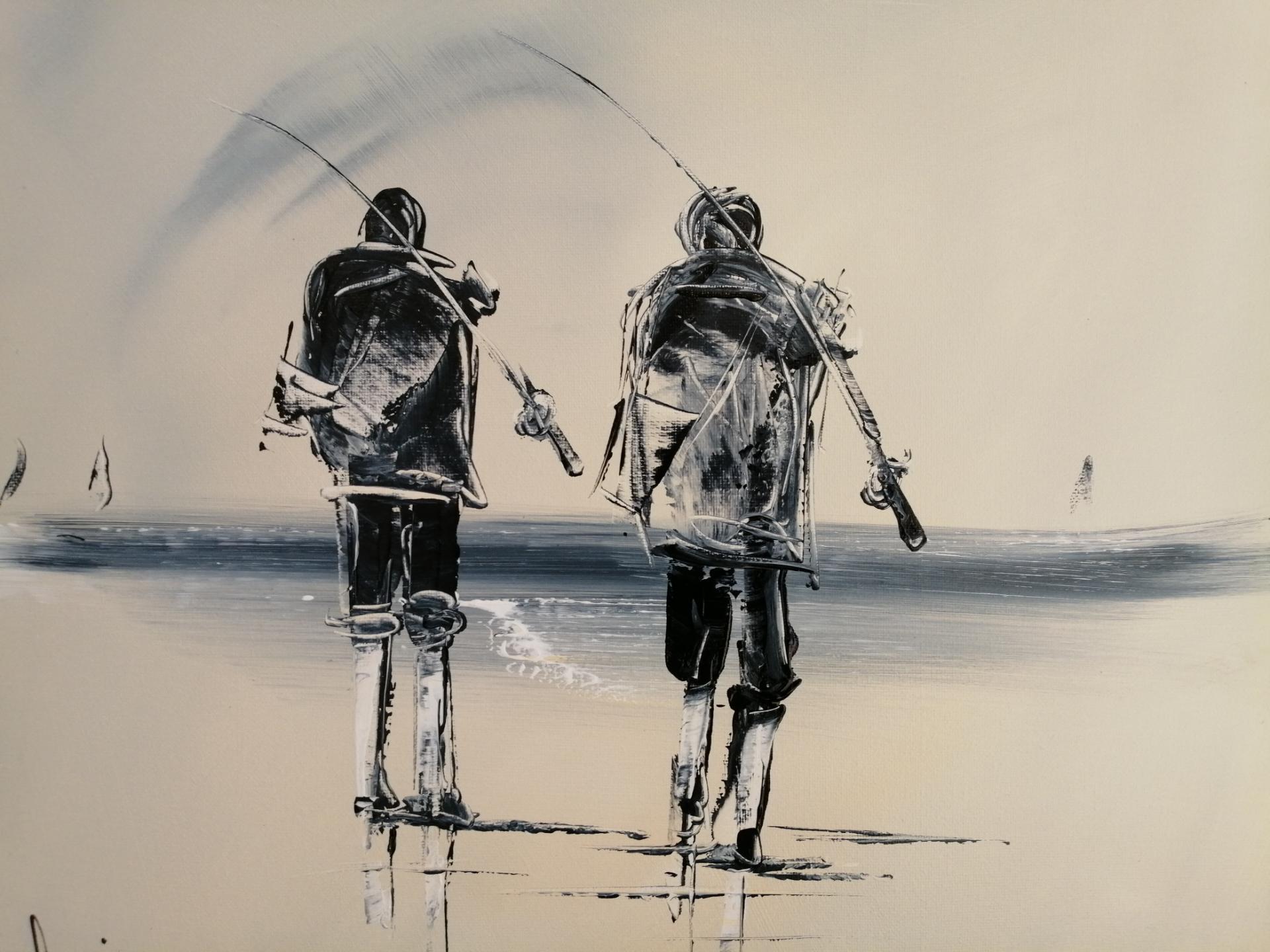 parti à la pêche