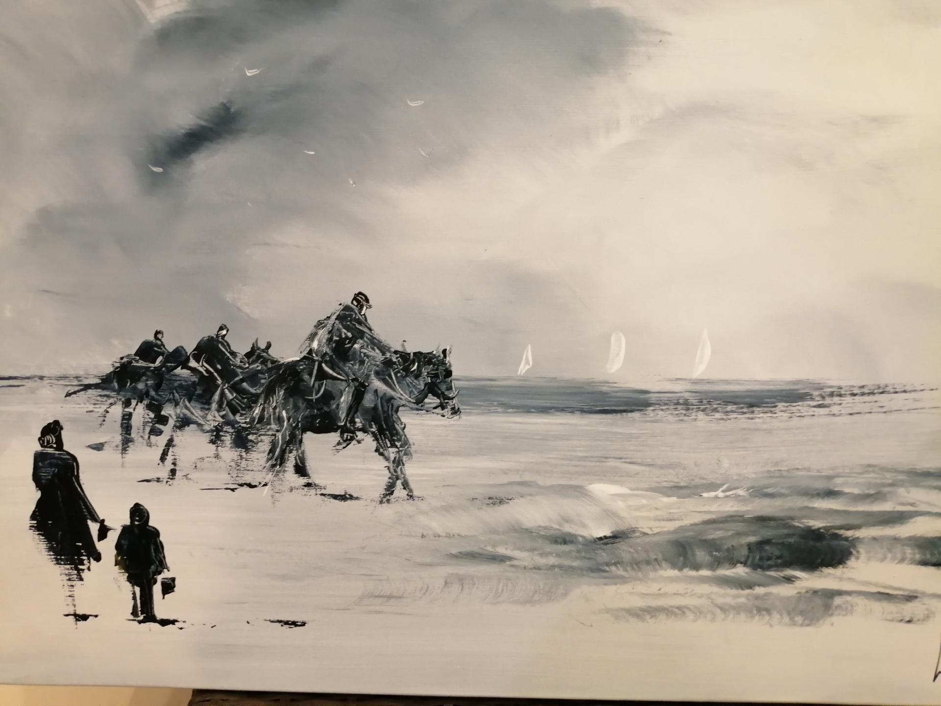 balades sur la plage de wimereux