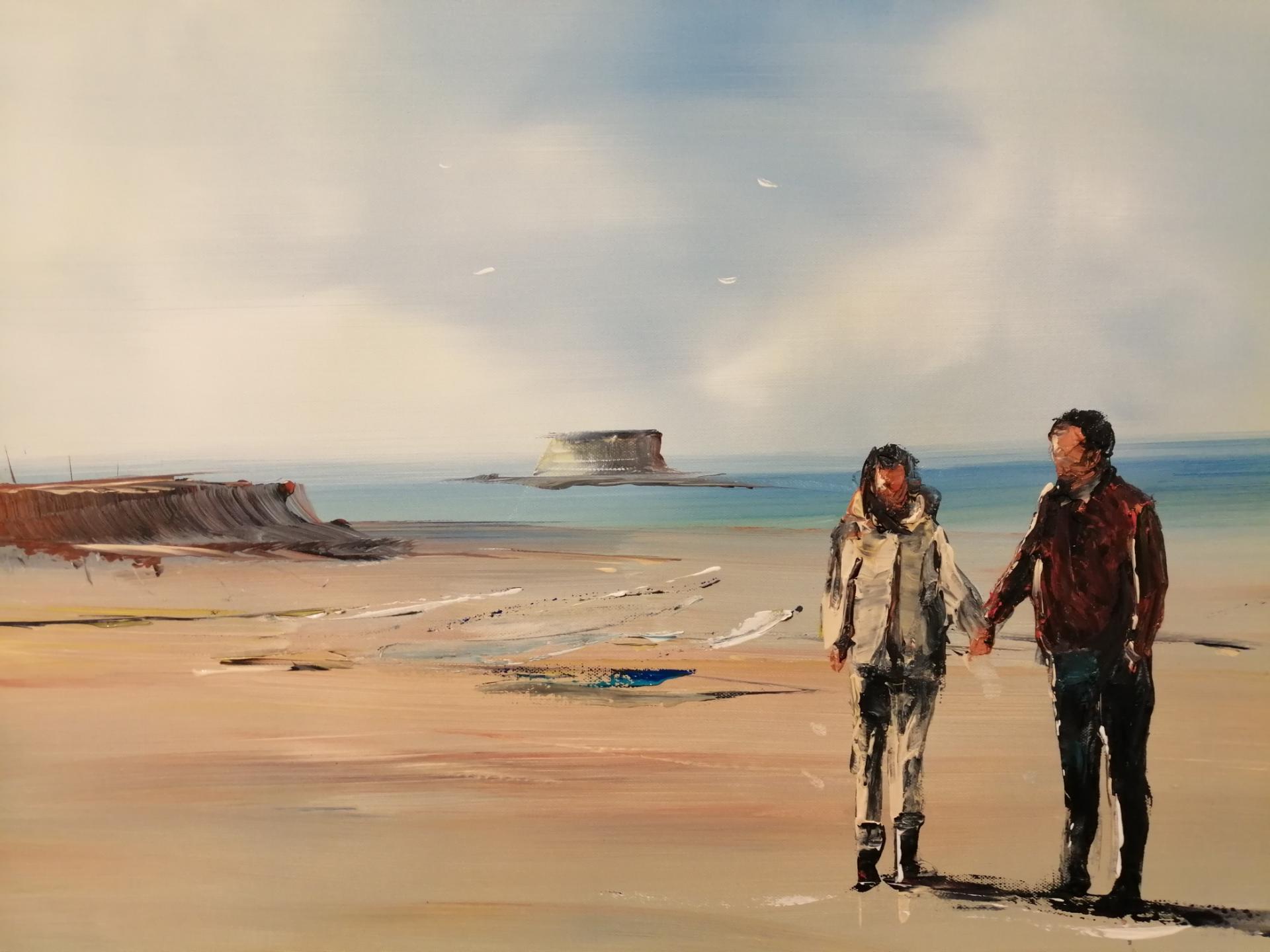 balade sur la plage du PORTEL