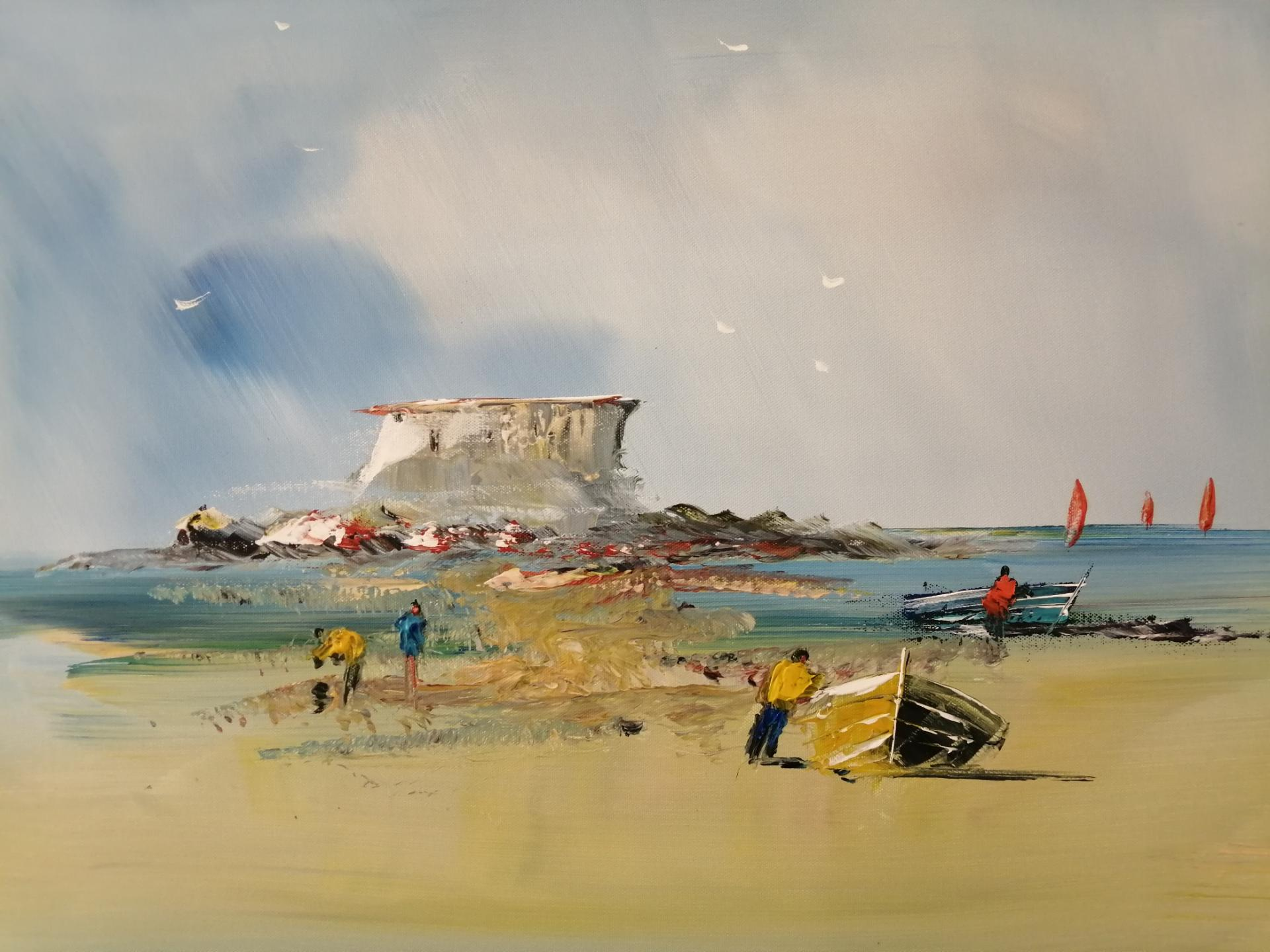 La plage du PORTEL