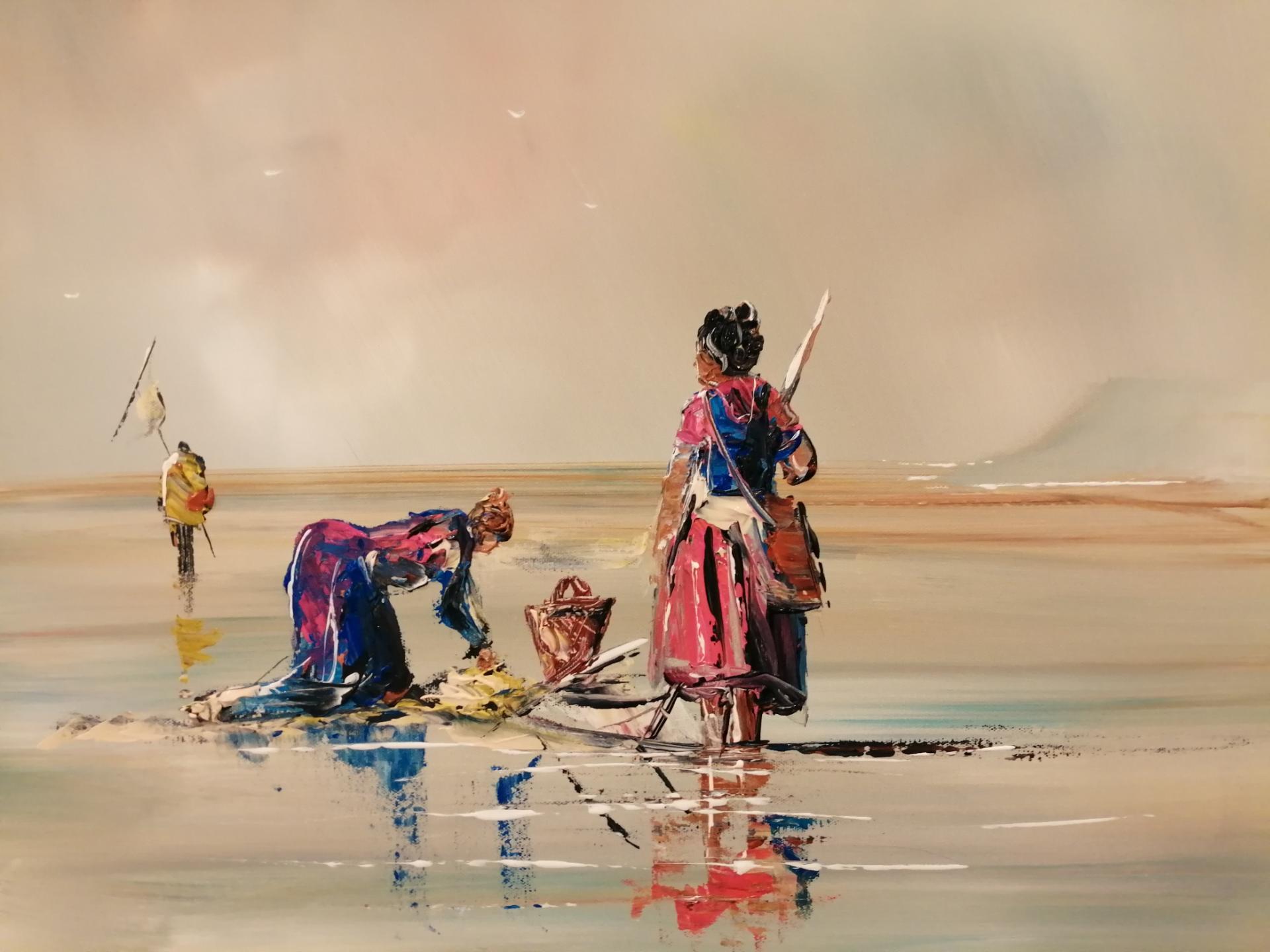 La pêche à la crevette sur la côte d'OPALE