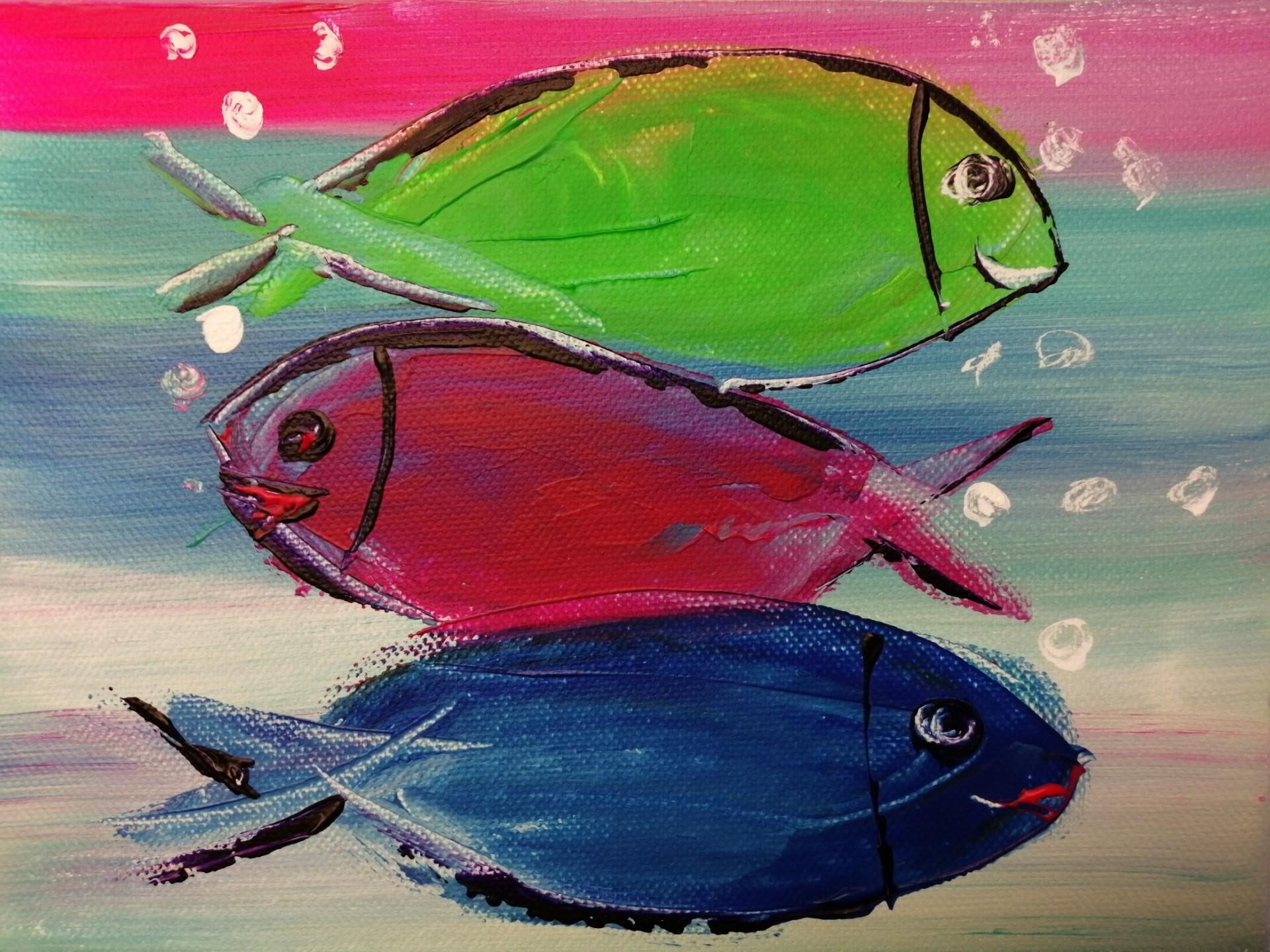 les poissons en confinement