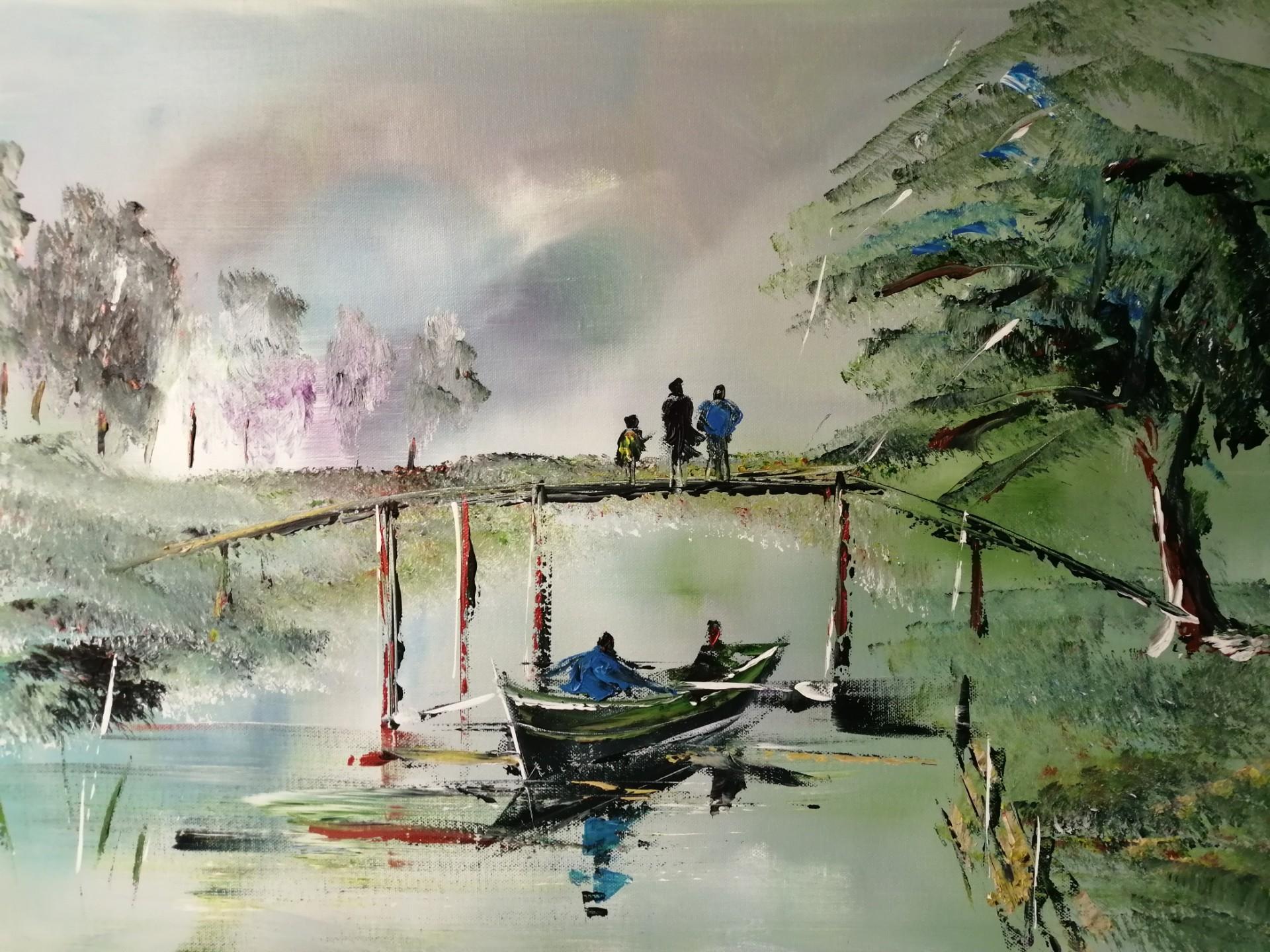 balade en barque dans les marais