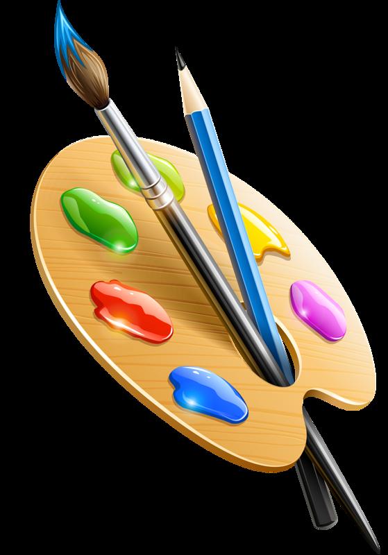 Palette pinceau